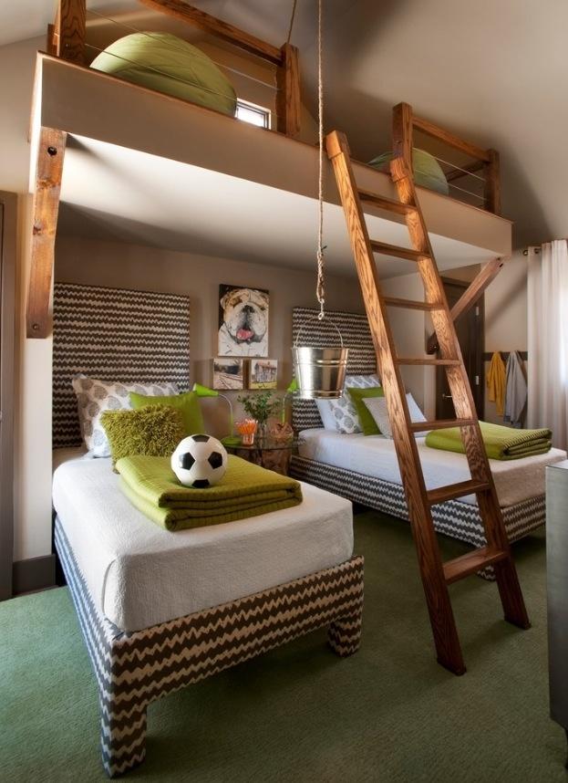 Loft for kids' room