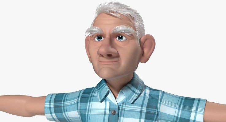 ma tom old man cartoon animation