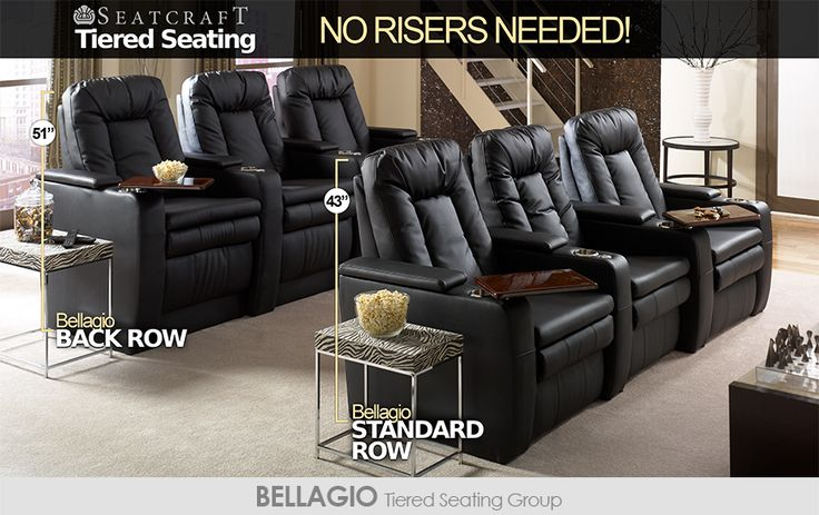 Best 25 Home Theater Seating Ideas On Pinterest Home