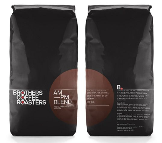 Brothers Coffee Roasters - Designed by Verse