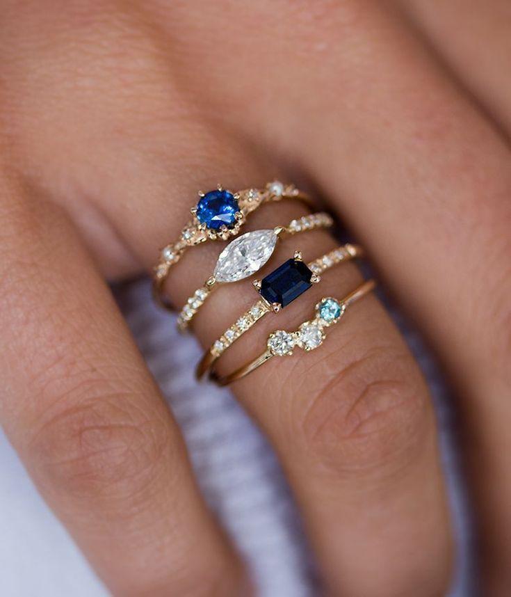 Unique Yet Timeless Fine Jewelry #beautifulfinejewelry