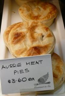 ✿ڿڰۣ(̆̃̃•Aussiegirl. meat pies                         http://www.eatlivetravelwrite.com/2009/07/adelaide-central-market-6/