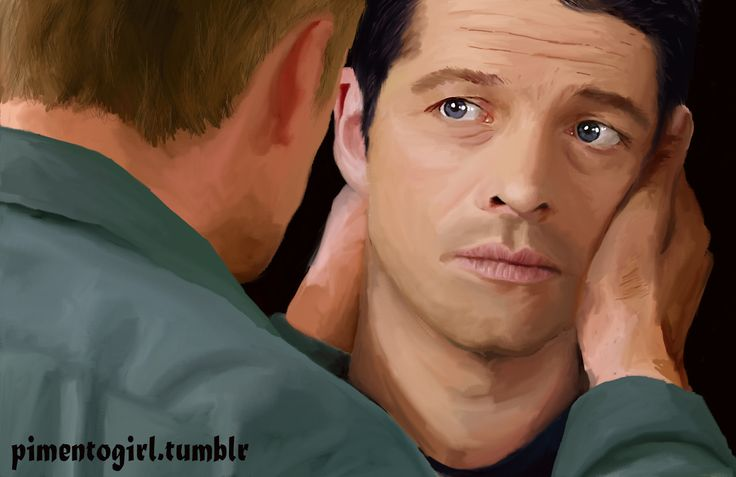 Art for @spunkybob5's Castiel Big Bang 2017 - Read the whole thing on AO3