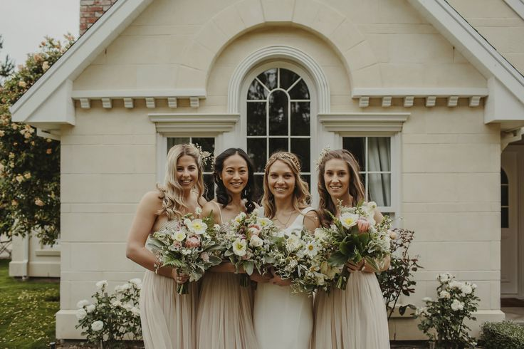 Jen and her maids 19th December 2015. Photographed by Danelle Bohane.