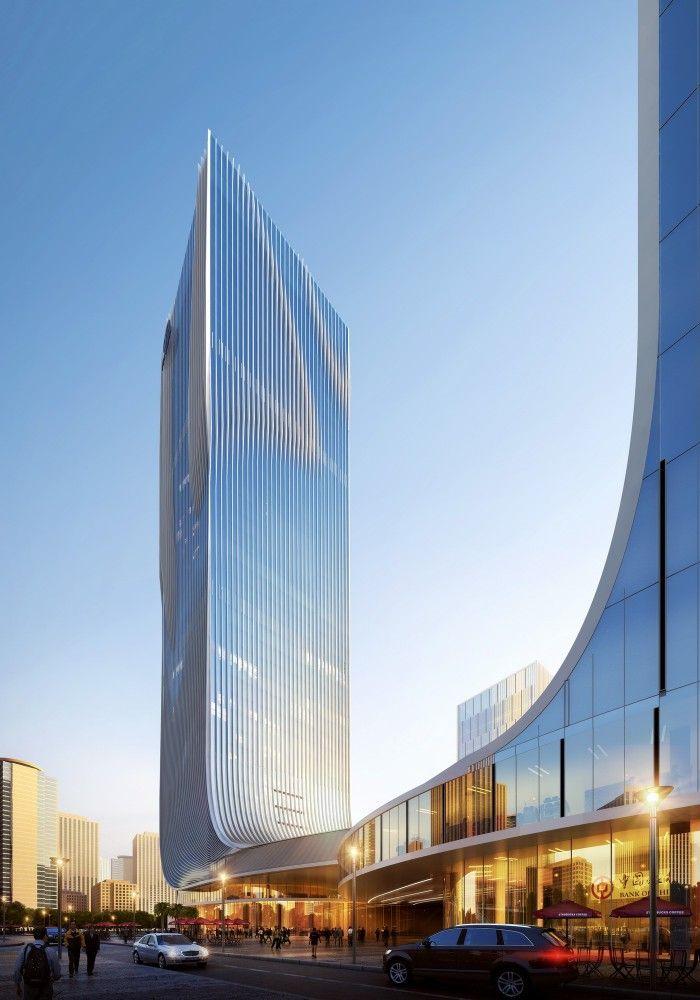 """Fangda+Business+Headquarters""+Winning+Entry+/+Huasen+Architects"