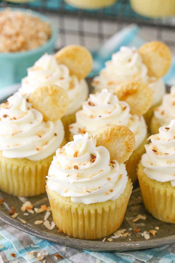 Coconut Cream Pie Cupcakes Recipe Easy Cupcake Recipes