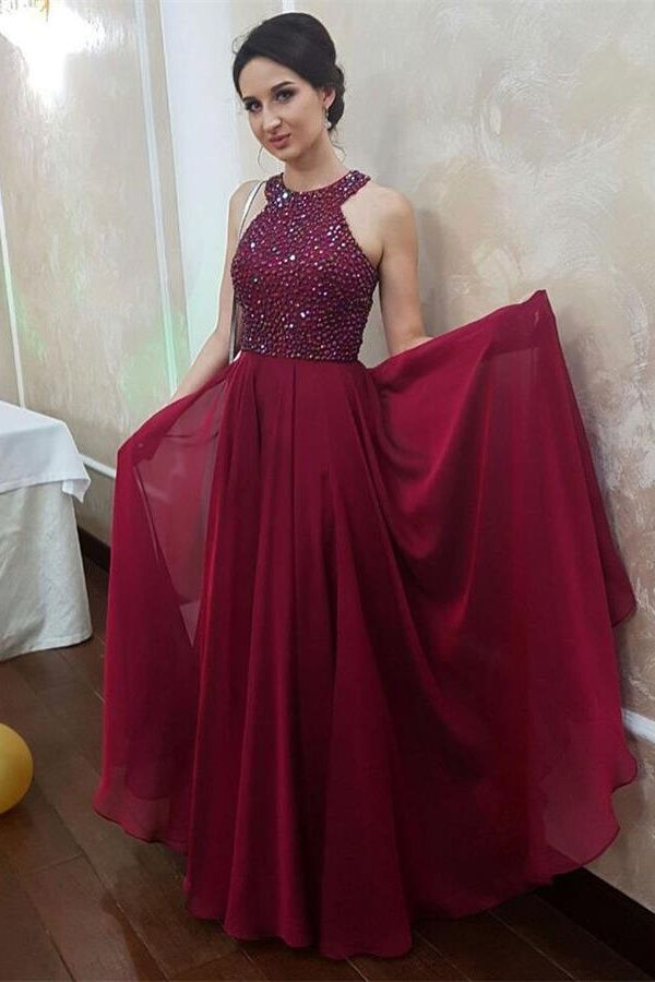 45399bb0ea Beautiful Long Beading A-line Prom Dresses For Teens
