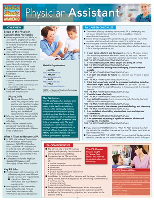 62 best pa school images on Pinterest - resume for pa school