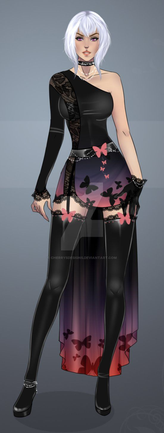Finished Outfit Adopt 40 (AB2 option) by CherrysDesigns