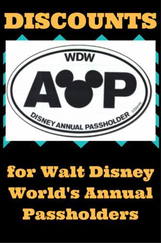 walt disney world annual pass just locals