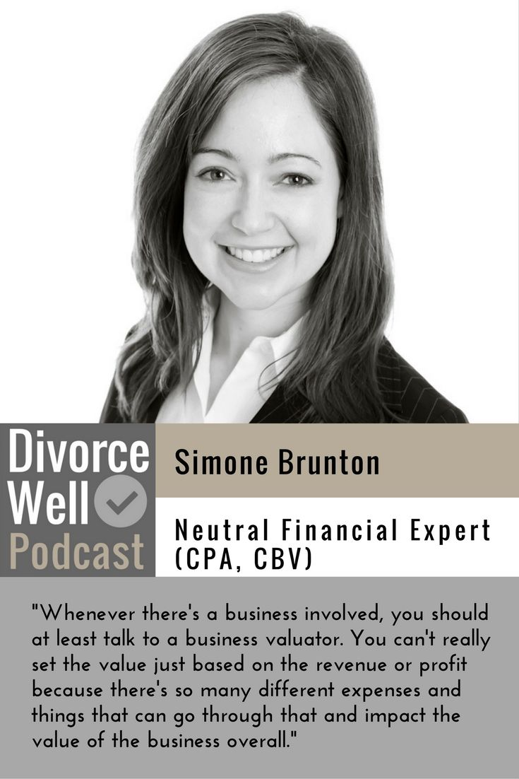 A neutral accountant/business valuator can help explain your financial situation, do tax planning, value your family business, determine income for support, and help structure options. #divorce #mediation #accountant #divorcewell