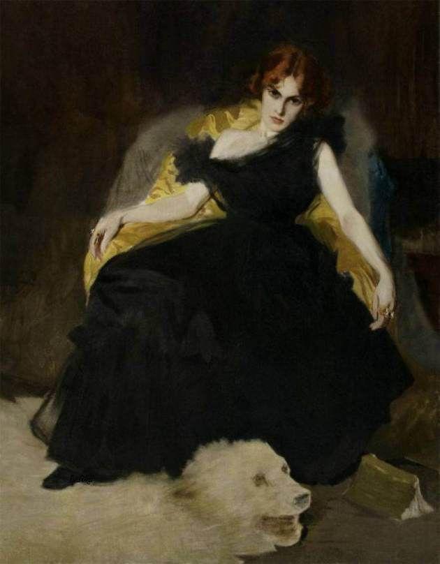 Vittorio Corcos, La Morfinomane, 1899