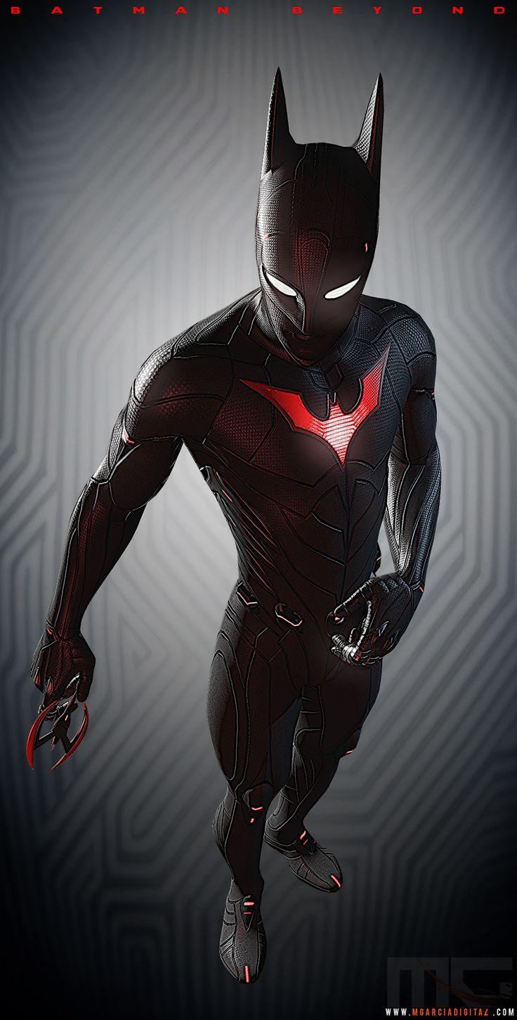 Batman Beyond (from concept) - Polycount Forum