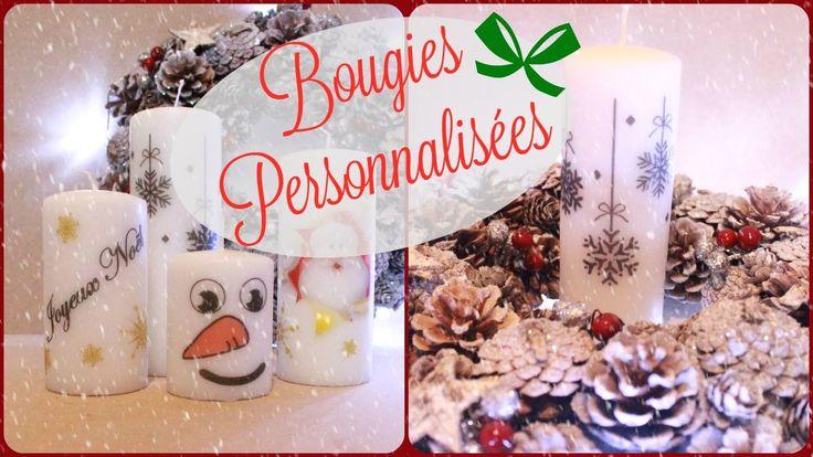 ★ DIY ★ Bougies personnalisées