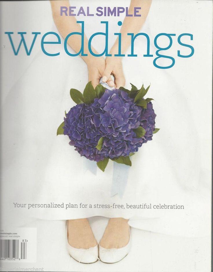 Real Simple Weddings Magazine