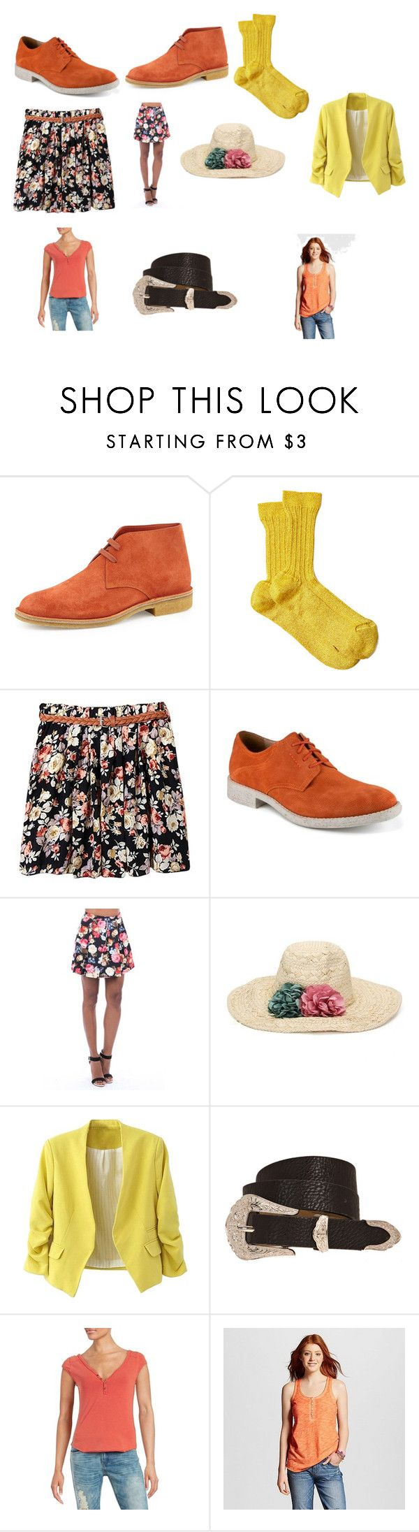 """Nicole Eggert's outfit at the zoo in The Double O Kid"" by terrence-michael-clay on Polyvore featuring Bottega Veneta, Missoni, Marc New York, Free People and Mossimo Supply Co."