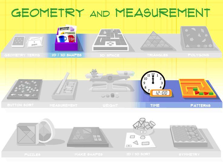 Starfall com 3d shape math fun internet site website telling time
