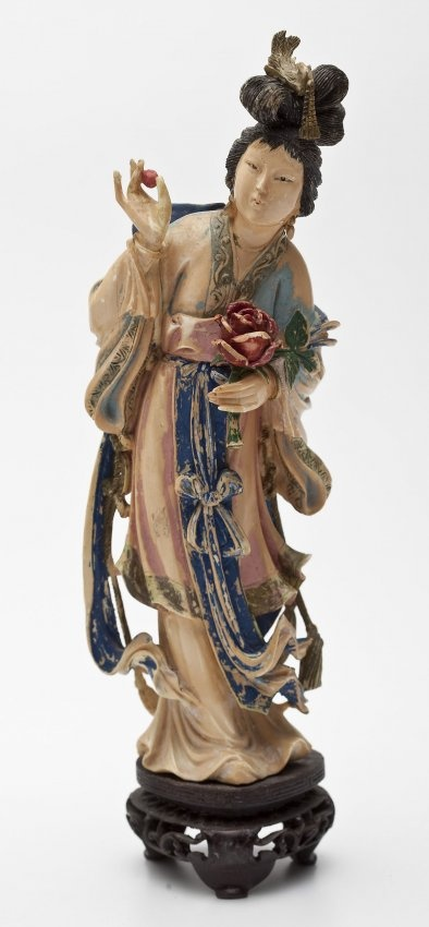 Chinese Carved Ivory Figurine