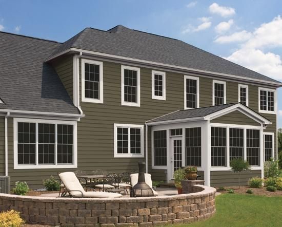 Cypress and olive exterior colors google search rustic for Cypress color vinyl siding