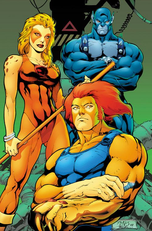 Thundercats--maybe I could dress as Cheetara one day? She was always my favorite, since I love cheetahs, but I like them all.
