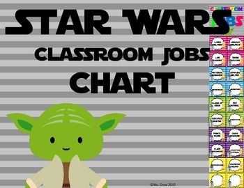 Star Wars Classroom Jobs Chart!