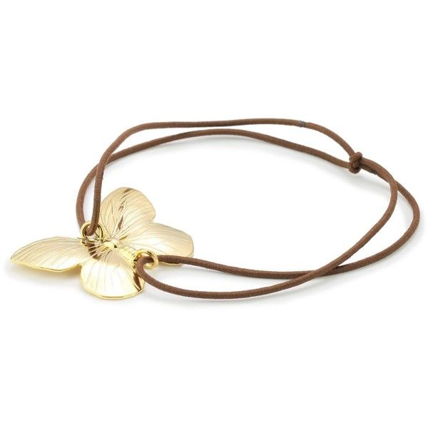 Privileged NYC Gold plated Butterfly Headband ($40) ❤ liked on Polyvore