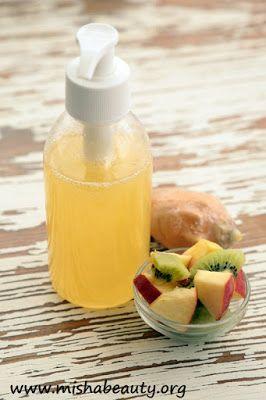 MishaBeauty - DIY kosmetika: Ovocný šampon