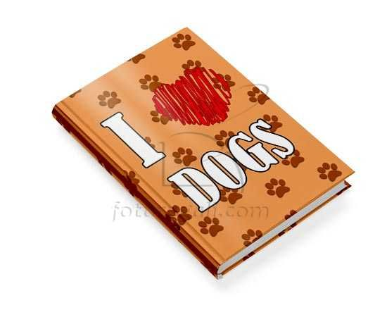 Libro animali con copertina con dedica