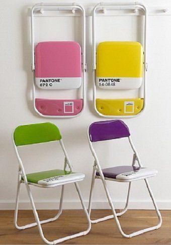 Me encantan estas sillas plegables Pantone jiji