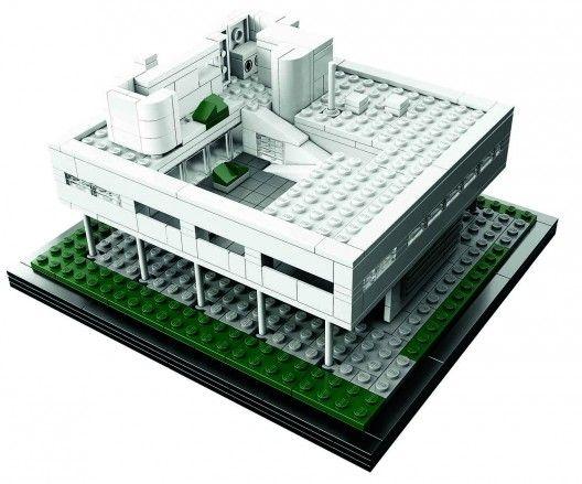 LEGO Architecture Landmark Series: Villa Savoye (1)