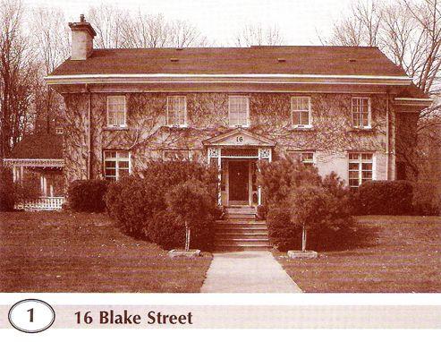 16 Blake St.