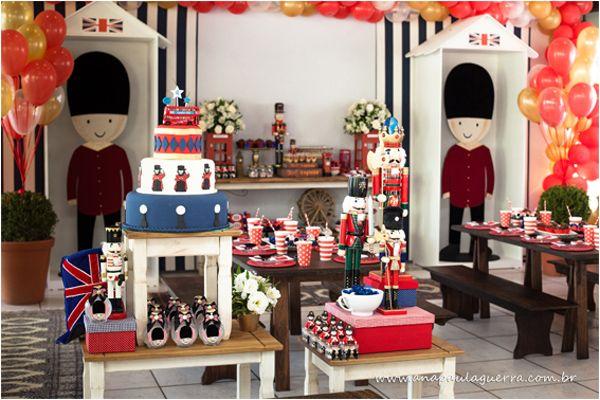 London Birthday Party via Kara's Party Ideas | Kara'sPartyIdeas.com #london #birthday #party (28)