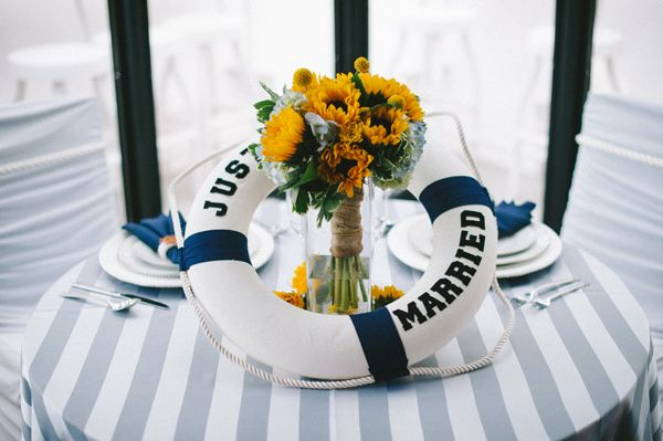 Just Married Buoy