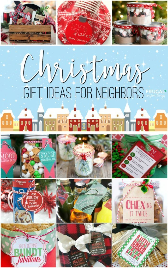 Christmas Gift Ideas For Your Neighbors Co Workers Teachers And Friends Creative Easy Gifts That Require A Tag Done