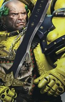 Sigismund, First Chapter Master of the Black Legion Chapter, First Captain of the Imperial Fists, Emperor's Champion #warhammer #warhammer40k #wh40k