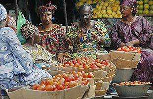 Food market, Africa https://www.flicklearning.com/courses/health-and-safety/food-hygiene-course