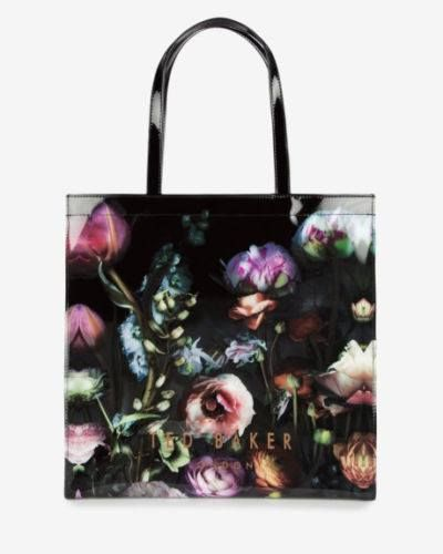 TED BAKER Icon Shocon Shadow Floral Tote Bag