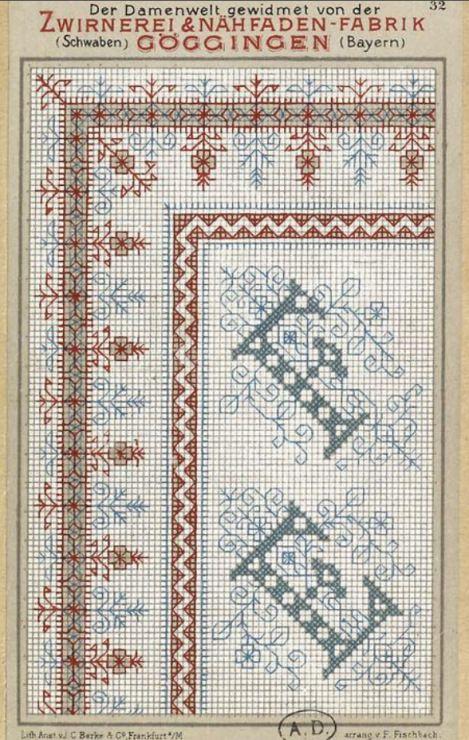 Gallery.ru / Фото #144 - старинные ковры и схемы для вышивки - SvetlanN