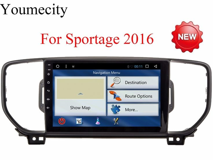 NEW!4G 9 Inch!Sportage r/Sportage 3 2 din Android 6.0 Car DVD player Gps wifi for KIA Sportage 2016 2017 years Canbus box free