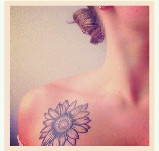 148 best Sunflower Tattoos images on Pinterest | Sunflower ...