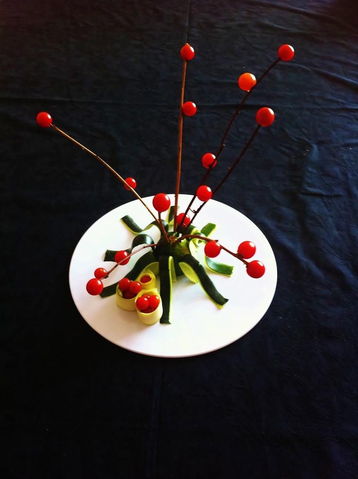 Cherry tomatoes salad