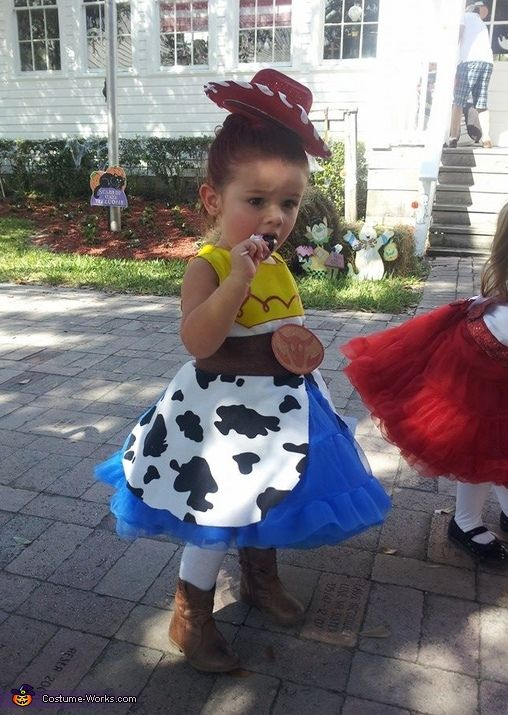 Jessie from Toy Story - Halloween Costume Contest via @costume_works