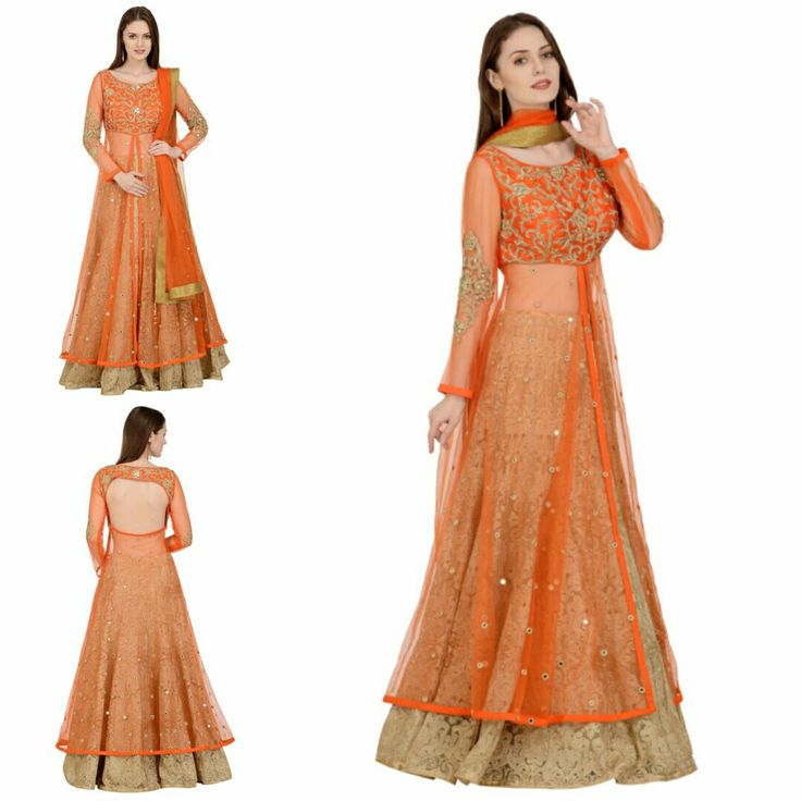 Orange and Gold Fusion Lehenga with Zardozi Embroidered on Raw Silk and Net. This gorgeous is now available at a fraction of its original cost. #freealterations #freehomedeliveryandpickups #tryathomebeforeorder #delhidesigner #delhigram #desidesigner #akshaywadhwa #lehenga #ethnicwear #orangelove #indianstyle ##weddingwear #lookgorgeous #feelgood #beautifulll #bewise #rentyourfashion #rentfromftheramp #myotr #OffTheRamp  For more details and designs please visit offtheramp.com