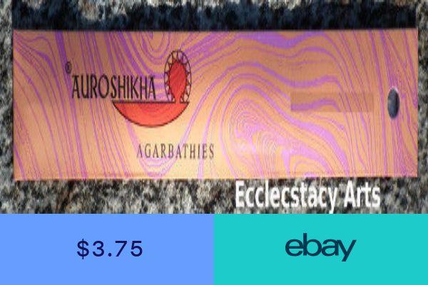Auroshikha Natural Rose Incense Sticks 10 Grams Per Pack You Pick 1-2-3-5-10