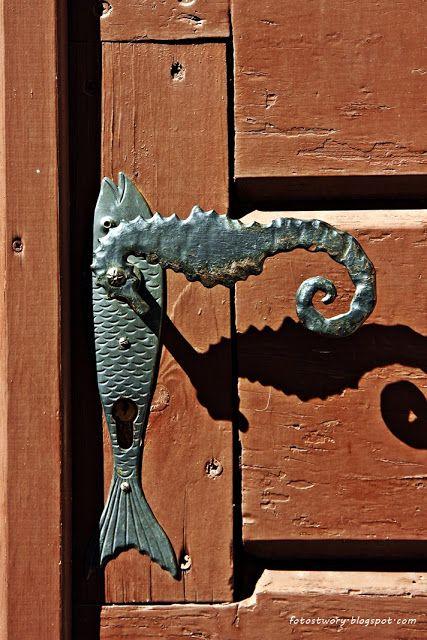 door knob in Piran / Slovenia