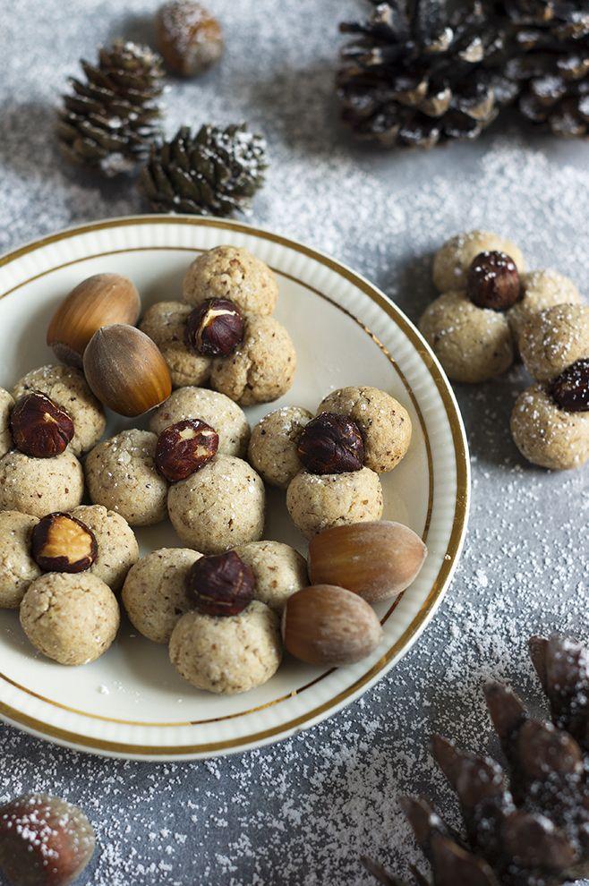 Kuchnia Nasza Polska Orzechowe Kwiatki Ciasteczka Cieszynskie Na Swieta Food Foodie Stuffed Mushrooms