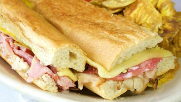 The Original Cuban Sandwich:  A Tampa treasure, from Columbia Restaurant