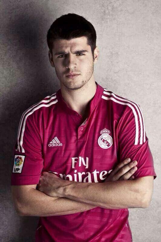 A.Morata #realmadrid Jersey Grade Ori Real Madrid Away 2014/2015 Minat, Order ke : 762e105a