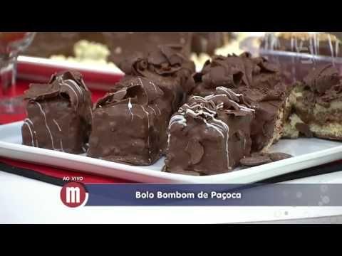 Mulheres - Bolo bombom de paçoca (09/11/2015) - YouTube