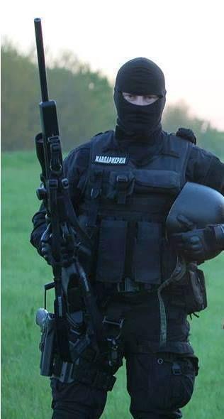 Sniper from Serbian Žandamerija
